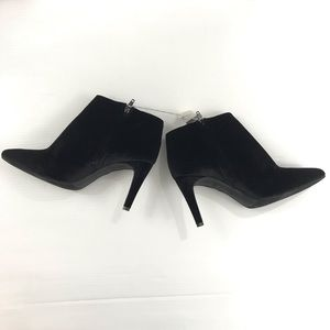 Old Navy Shoes - NWT Old Navy velour heeled ankle boots